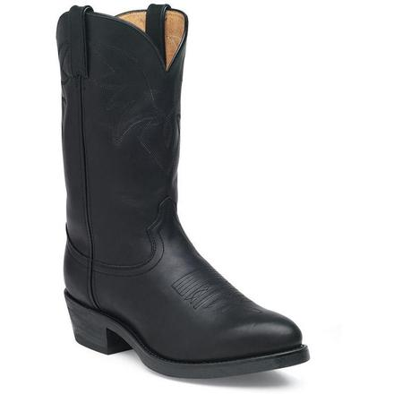 Durango® Oiled Black Leather Western Boot
