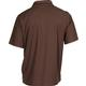 Rocky Logo Short-Sleeve Polo Shirt, BROWN, small