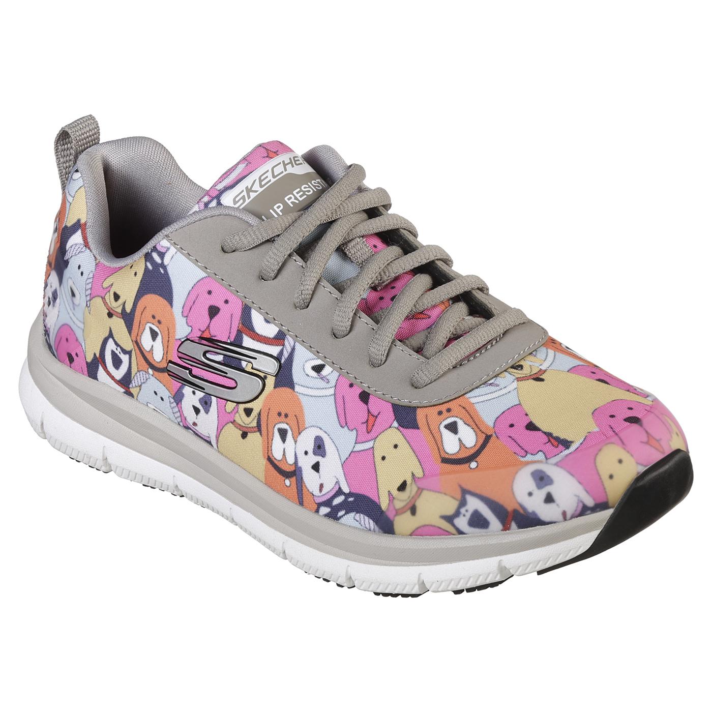 skechers slip resistant shoes womens
