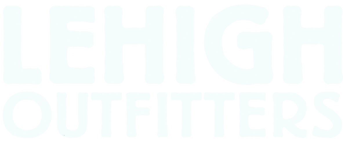 Lehigh Outfitters White Text Logo