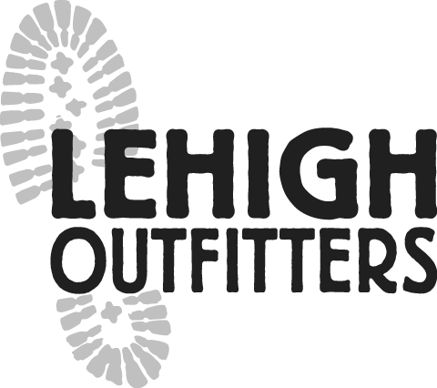 Lehigh Outfitters Logo - Alternative - Black and White