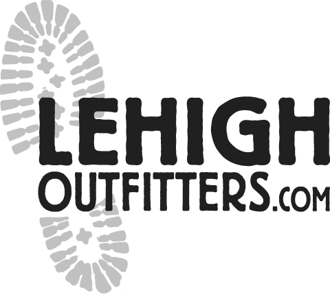 Lehigh Outfitters Logo - Black and White