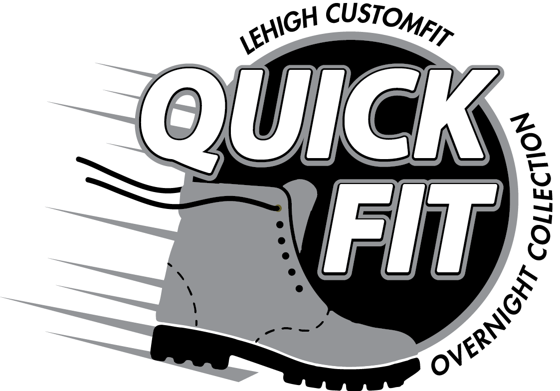 Lehigh CustomFit QuickFit Overnight Collection Logo