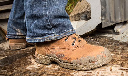 womens steel toe boots